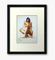 """Secret Life"" Framed Print"