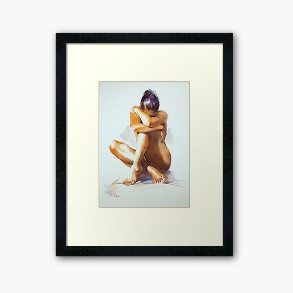 """""""Secret Life"""" Framed Art Print"""