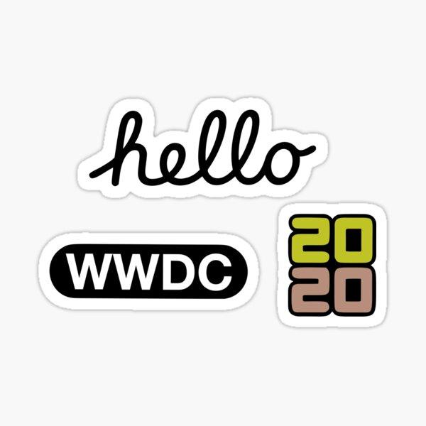WWDC 2020 Stickers Sticker