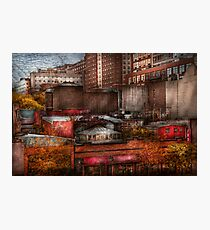 New York - City - Greenwich Village - Abstract city Photographic Print