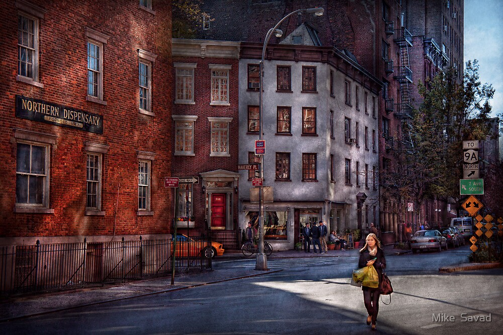 New York - City - Greenwich Village - Northern Dispensary  by Mike  Savad