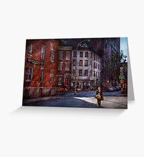 New York - City - Greenwich Village - Northern Dispensary  Greeting Card