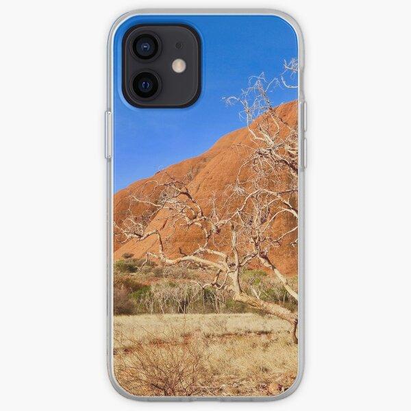 Tree at Kata Tjuta, The olgas, NT Australia iPhone Soft Case
