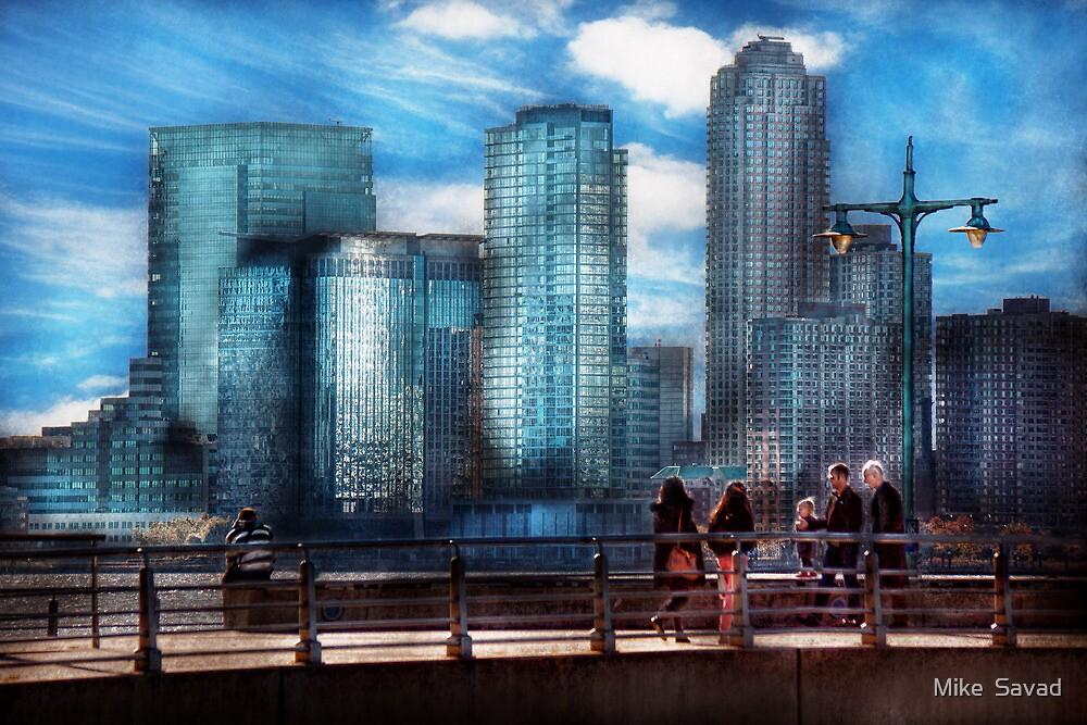 New York - City - Hudson River Park - Downtown by Michael Savad