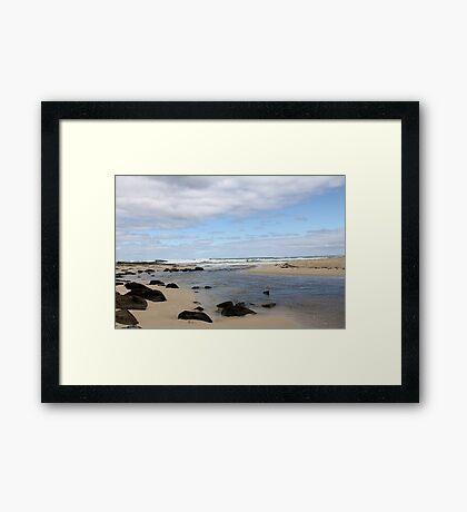 Margaret River Beach Framed Print