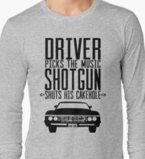 Supernatural quote Long Sleeve T-Shirt