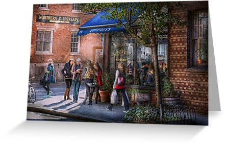 New York - Store - Greenwich Village - Jefferey's  by Michael Savad