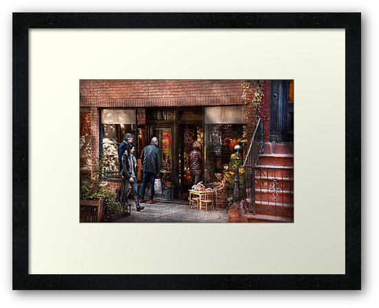 New York - Store - Greenwich Village - The gift shop  by Michael Savad