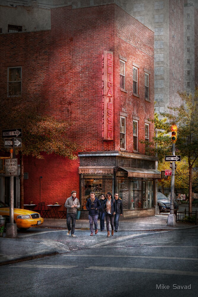 New York - Store - The old delicatessen by Michael Savad