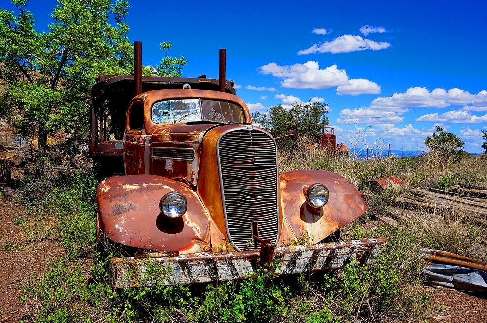 Truck Stop by Gina Dazzo
