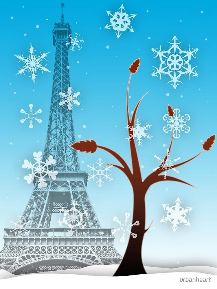 Paris en hiver by urbanheart