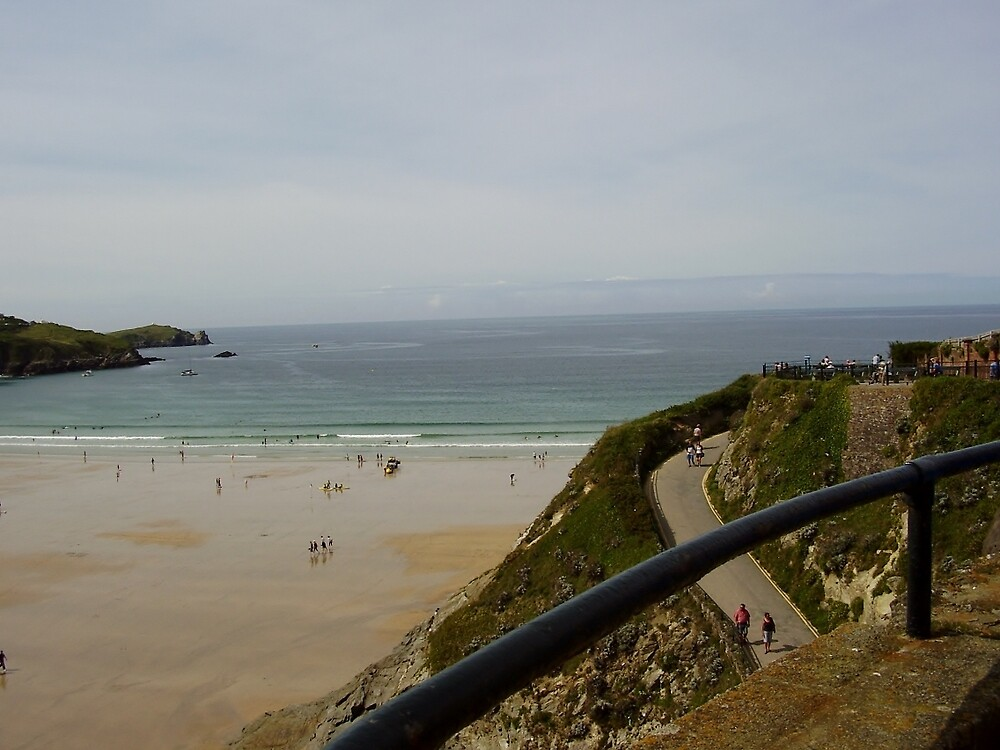 Towan Beach 6.0 - Newquay by clarebearhh