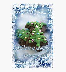 Yummy Christmas Photographic Print