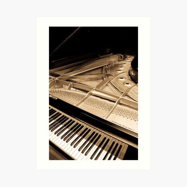 Grand Concert Piano Art Print