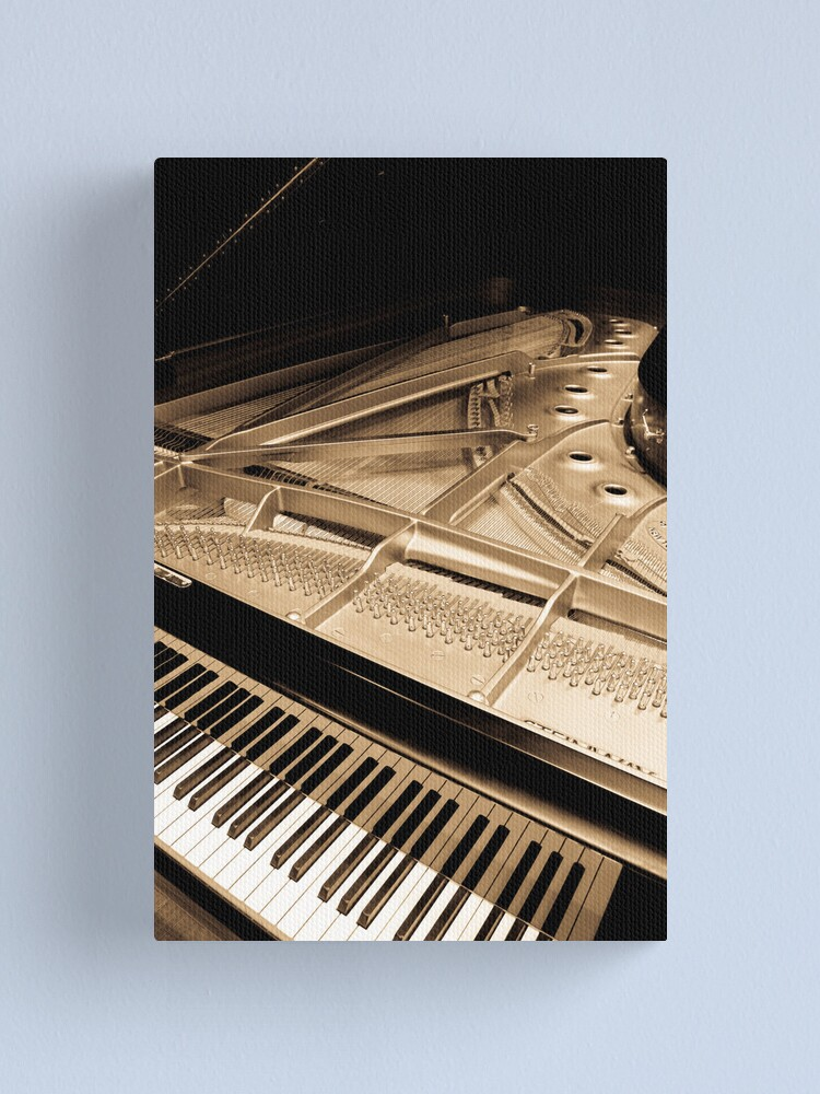 Alternate view of Grand Concert Piano Canvas Print