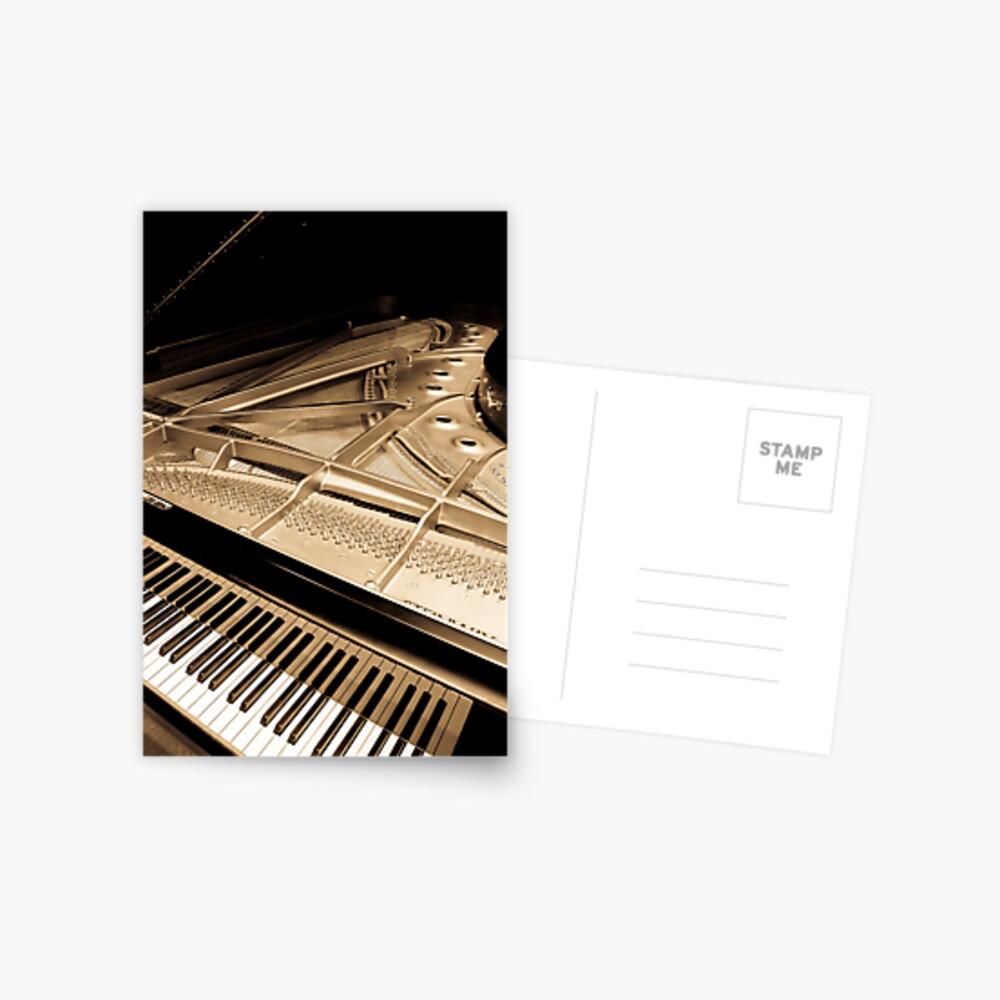 Grand Concert Piano Postcard