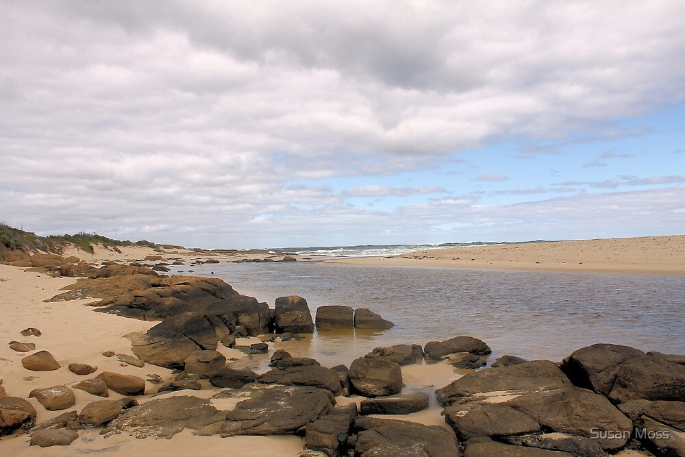 Mouth of the Margaret River  by Susan Moss