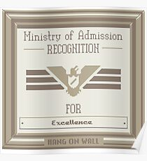 Papers Please Admission Poster