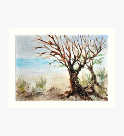 View to ocean in front of me? Art Print