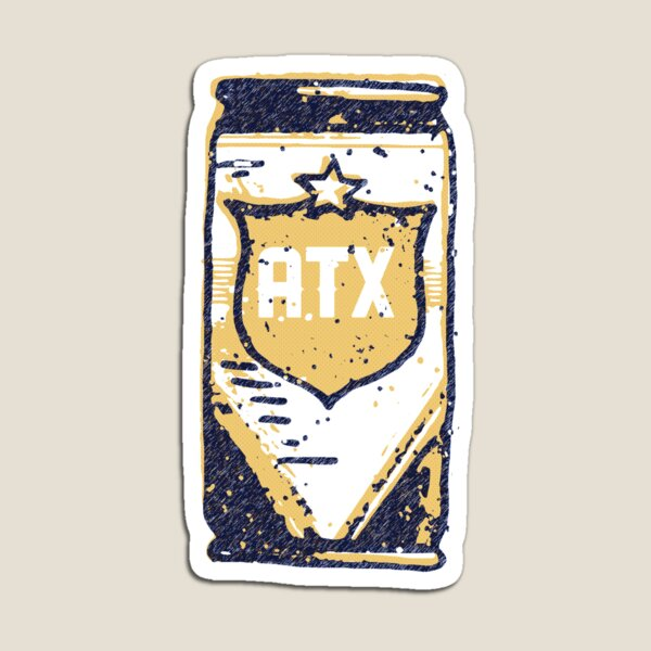 The Lone Star State - ATX Magnet