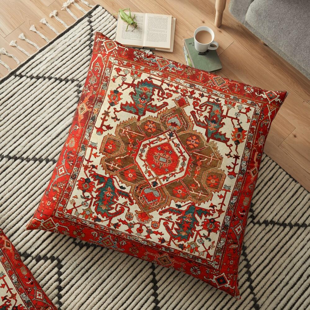 Persian Rug [c] Floor Pillow