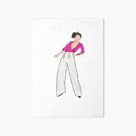 Harry Styles Fine Line Album Cover Art Board Print By Lenigee Redbubble