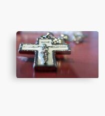 Crucifix Metal Print