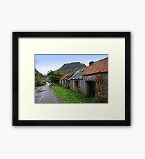 Abandoned Houses, Forgotten Lives Framed Print