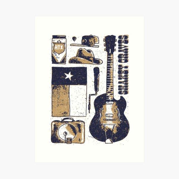 Shakey Graves Poster Art Print