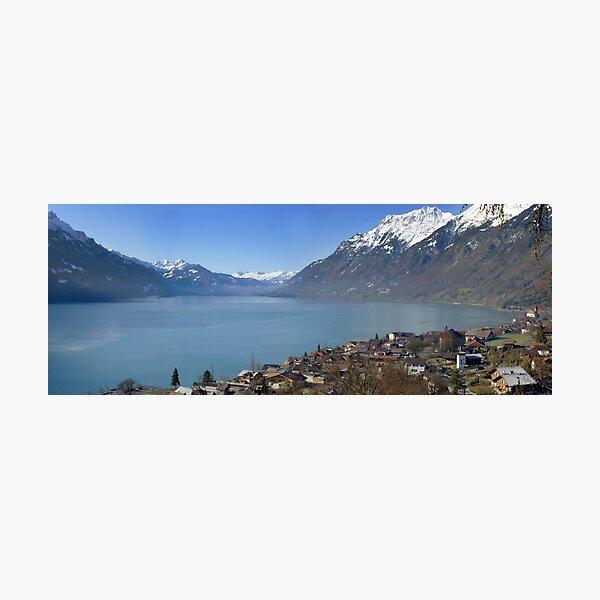 Lake Brienz, Brienz, Switzerland Photographic Print