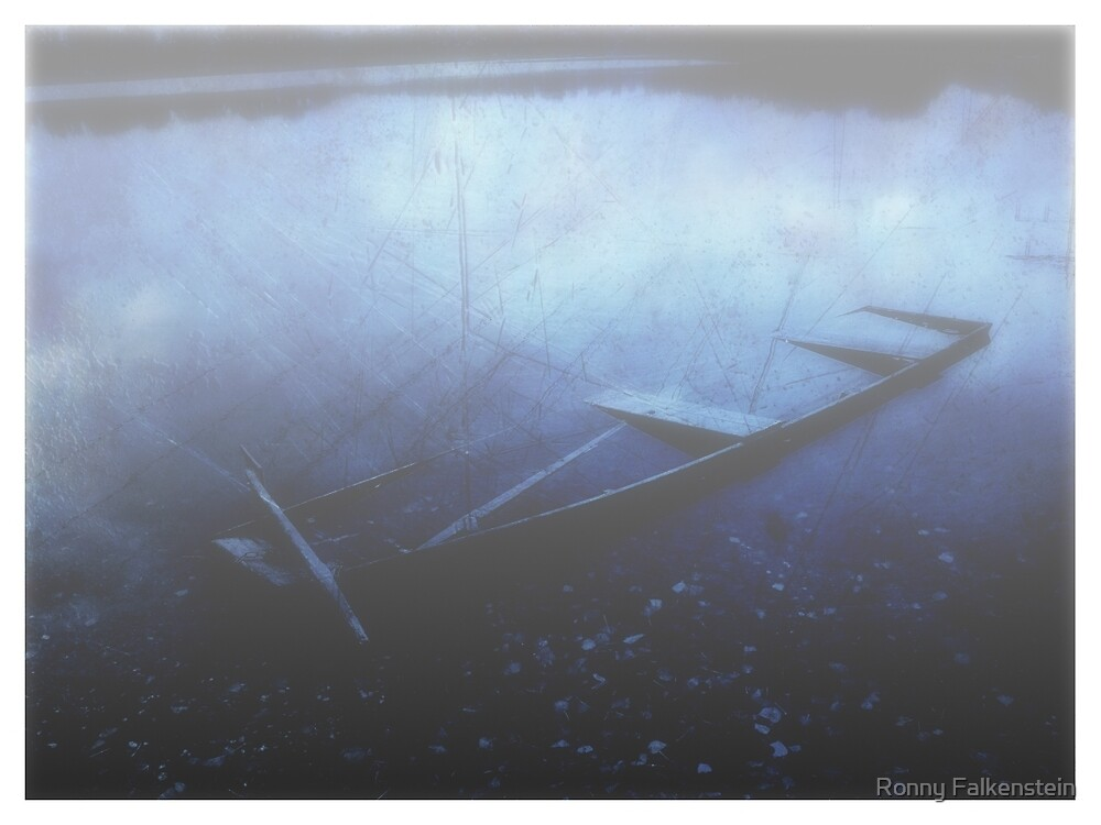 The mysterious boat by Ronny Falkenstein