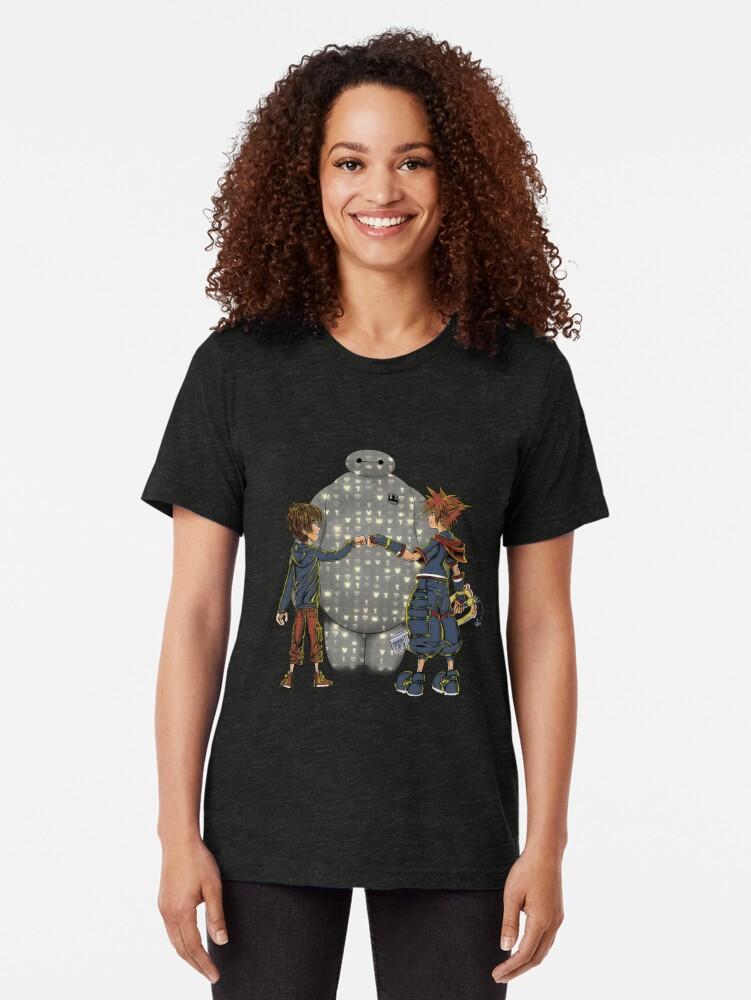 Vista alternativa de Camiseta de tejido mixto Amigos del Reino