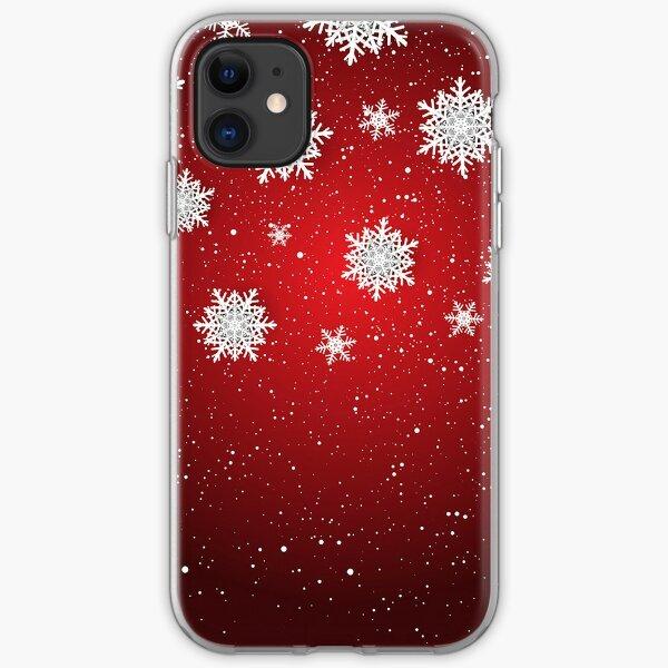 Snowflakes iPhone Soft Case