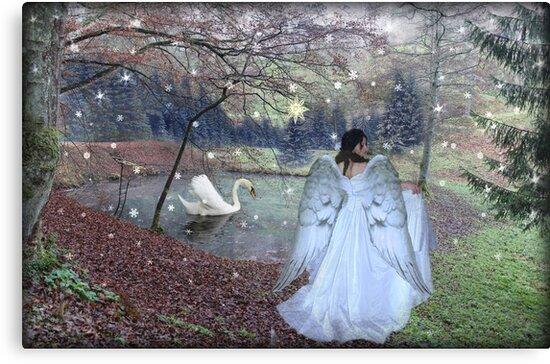 Angel of Christmas by MarieG