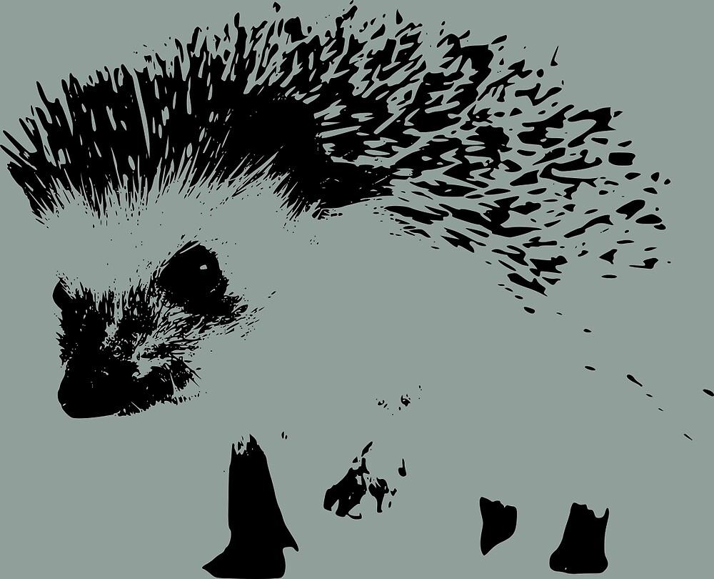 hedgehog in the hegde by izzykjb