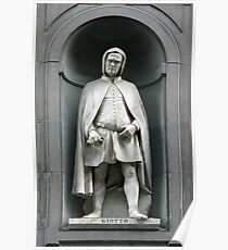 Statue of Giotto Poster