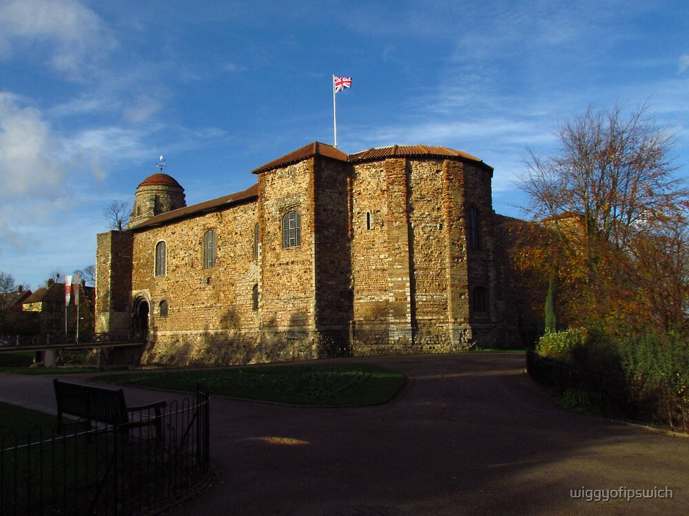 Colchester Castle from the South East by wiggyofipswich