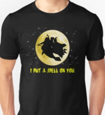 hocus pocus i put a spell on you unisex t shirt