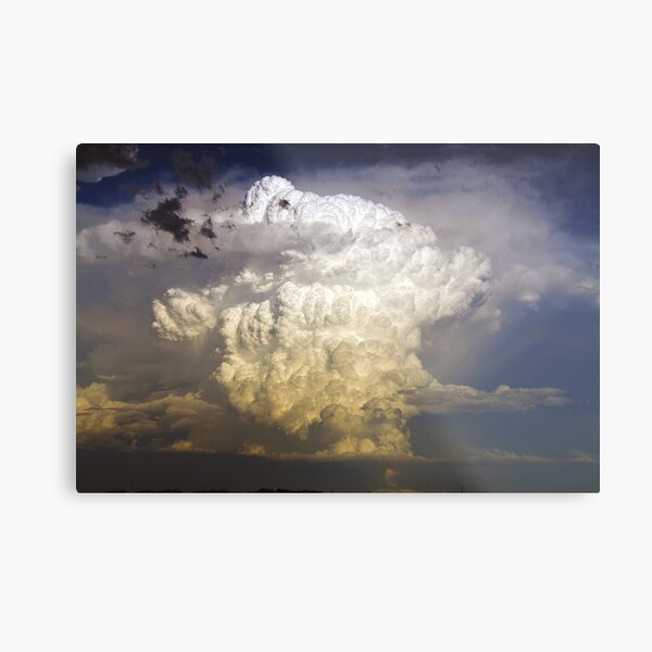 An explosive end - 1 Metal Print