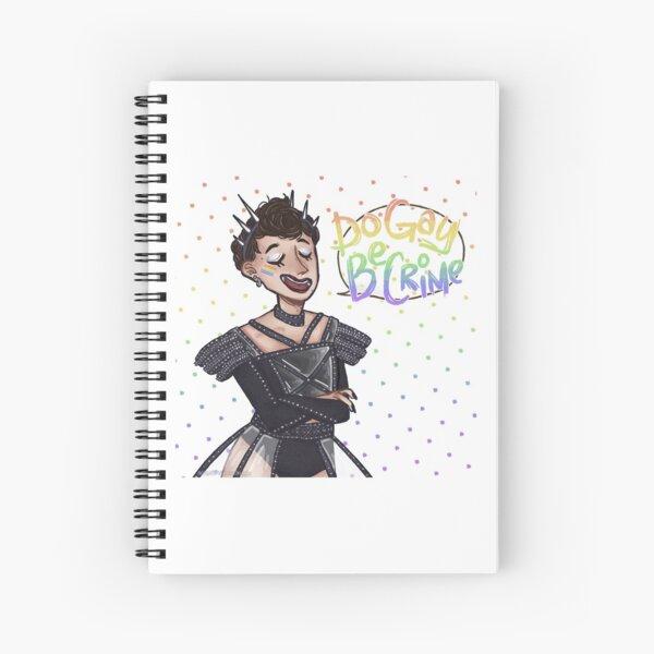 Karis Oka (5x5) Spiral Notebook