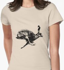 bounding hare white T-Shirt