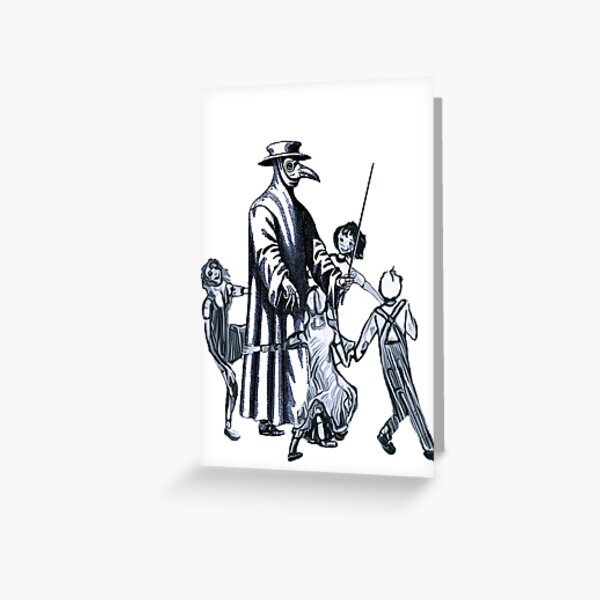 Party Like It's 1347 Again Greeting Card