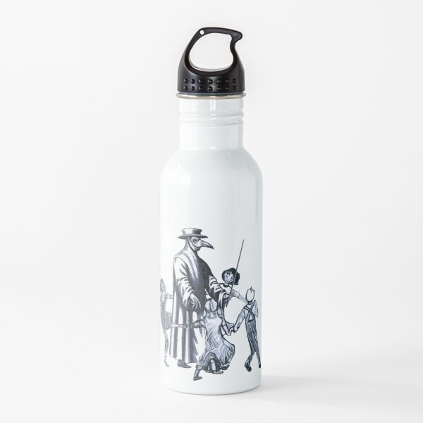 Party Like It's 1347 Again Water Bottle