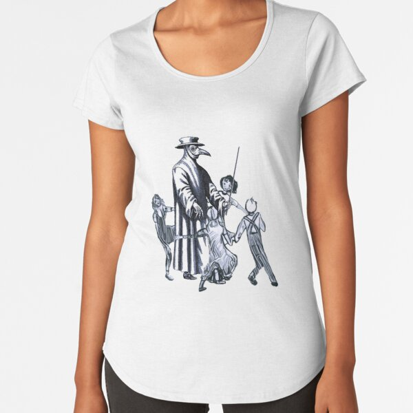 Party Like It's 1347 Again Premium Scoop T-Shirt