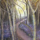 Bluebell Woods by Linda Woodward