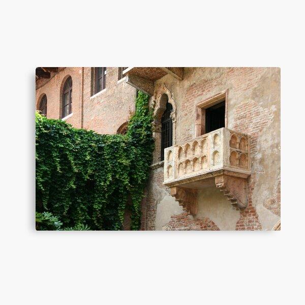 Juliette's Balcony 2 Canvas Print
