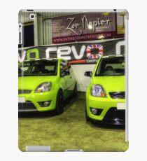 Two Green Fiestas HDR iPad Case/Skin