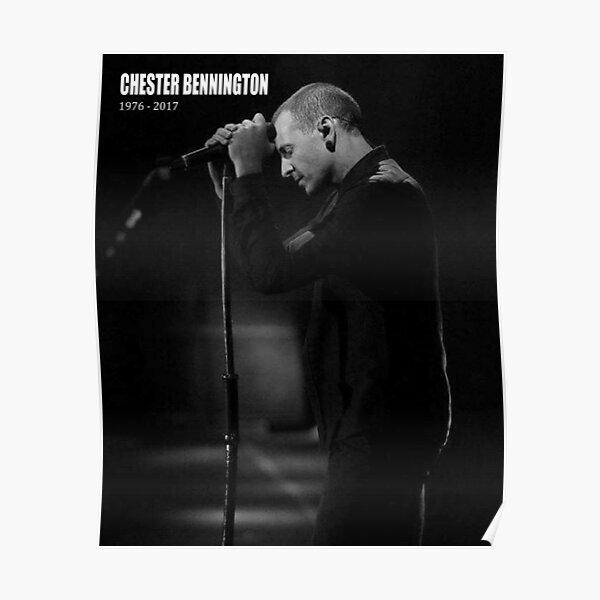 Chester Bennington 1 Linkin Park Photo Rock Band Picture Legend Music Poster