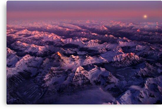 First Light - Assiniboine by John Poon