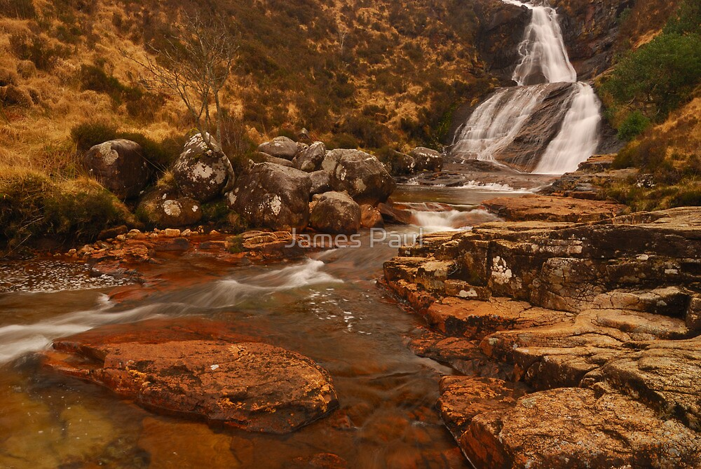 Eas a' Bhradain, Luib, Isle of Skye, Scotland by James Paul
